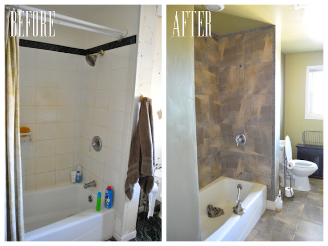 bathroom before and after, bathroom ideas, home improvement, Before and After Bathroom Reno