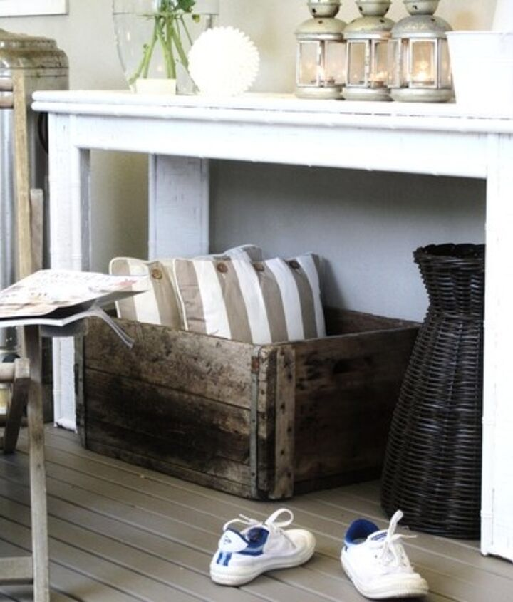 porch or patio decorating to add another room instantly, home decor, outdoor furniture, outdoor living, patio