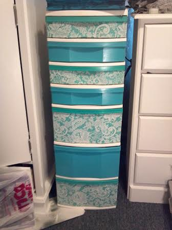 cheap plastic drawers fix, repurposing upcycling, storage ideas