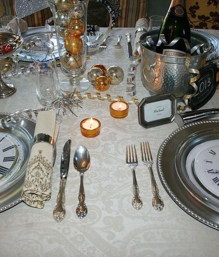 a new year s eve dinner, seasonal holiday decor