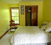 q a good closet door alternative, bedroom ideas, doors, home decor, Could curtains work right next to the window