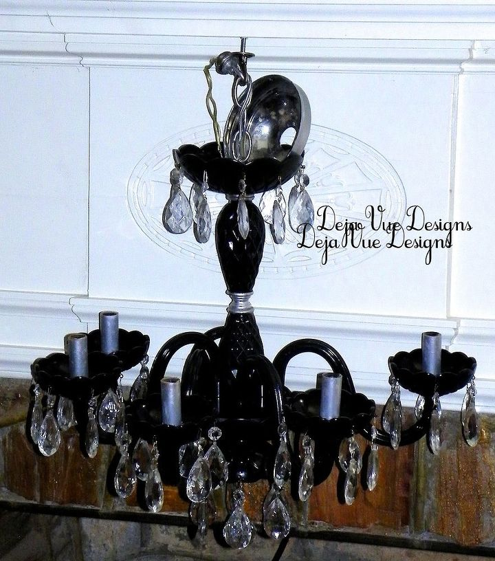 another recycled chandelier, lighting, painting