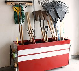 Etonnant Transform An Old Filing Cabinet Into A Garage Storage Unit, Garages,  Repurposing Upcycling