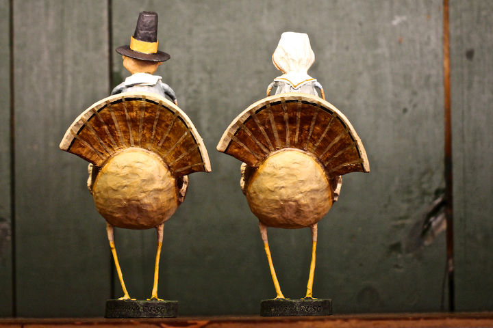 Pilgrim Fraternal Twins Turkey-Back Riding View Two