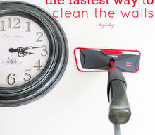 the fastest way to clean the walls, cleaning tips, wall decor
